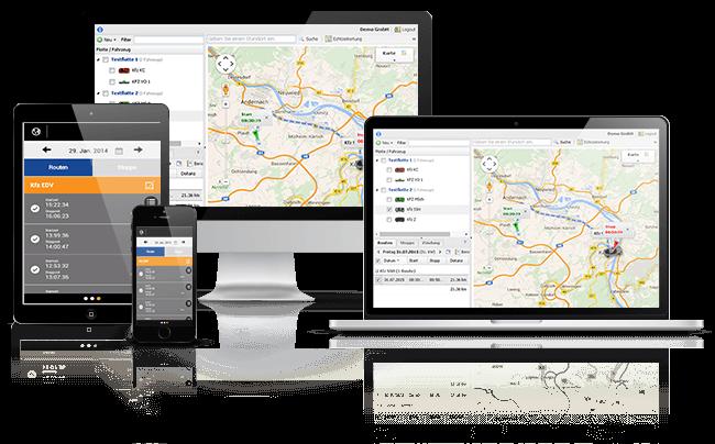 GPS Ortung und GPS Fahrzeugüberwachung mit GPS Ortungssystemen
